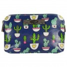 Catchfly Lennon Cactus Small Cosmetic Bag
