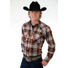 Men's Roper Western Plaid Shirt