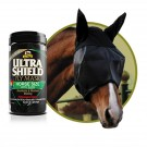Absorbine Extenda Shield EX Fly Mask -Horse with Ears