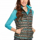 Ariat Ideal Down Vest -Ikat Print