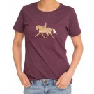 Gray & Bay Rose Gold Collection T-Shirt-Dressage