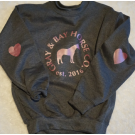Gray & Bay KIDS Heart Elbow Patch Sweater