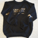 Gray & Bay KIDS Horse Elbow Patch Sweater