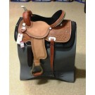 Texas Best American Barrel Saddle
