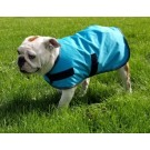 Sherpa Fleece Lined Dog Blanket - Large Dog Sizes - Turquoise