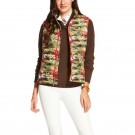 Women's Ariat Ideal Down Vest Hunt Print