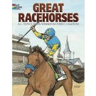 Great Racehorses Colouring Book