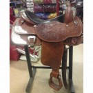"Used 17"" Circle Y Show Saddle"