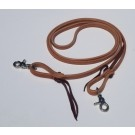 "Premium Leather 1/2"" Roping Rein By Alamo Saddlery"