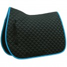 English Contour Saddle Pad with Contrast Binding