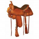 Circle Y Powder River All-Around Saddle