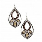 Montana Silver Rope Paisley Earrings