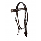 Alamo Chocolate Painted Browband Headstall #25-2800-CW