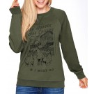 Spiced Equestrian The Horses Are Calling Sweater
