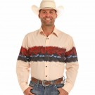 Men's Panhandle Scenic Button Down Shirt