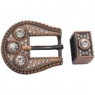 Belt Buckle Set -Bronze