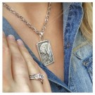 Montana Silver Horse Silhouette Necklace