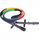 English Multi Colour Grip Reins