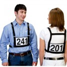 Weaver Exhibitor Number Harness