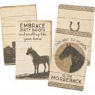 Primitives By Kathy Horse Notebook