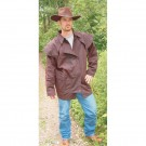 OUTBACK RIDER OILSKIN COAT 3/4 LENGTH