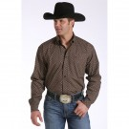 Men's Cinch Brown Shirt