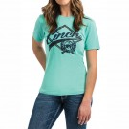 Ladies Cinch Logo T-Shirt
