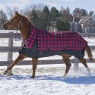 Buffalo Plaid Storm by Canadian Horsewear 1200 D Ripstop -160g Fill