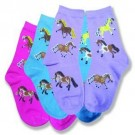 AWST Puff Ponies Youth Socks