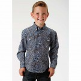 Boy's Roper Western Shirt