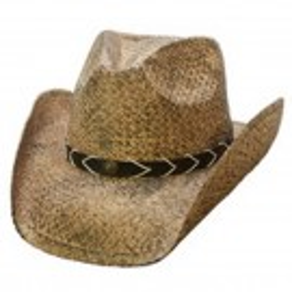 Men's Smokey Ridge Raffia Conner Western Hat
