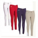 Ladies Equine Couture Knee Patch  Breeches
