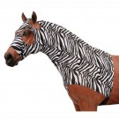 Zebra Lyrca Neck Slinky with Zipper
