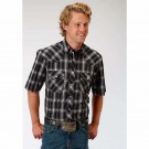 Men's Roper Western Style Plaid Shirt