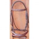 Sage Family Raised Stitched Bridle with Flash