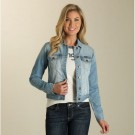 Ladies Wrangler Denim Fashion Jacket LWJ56LD