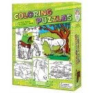 Colouring Horse Puzzle