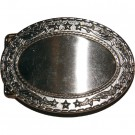 Star Border Belt Buckle