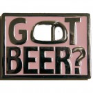 Got Beer? Belt Buckle