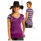 Ladies Graphic T-Shirt Panhandle Slim