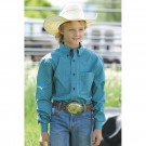 Boy's Cinch Performance Western Shirt