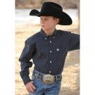 Boy's Cinch Button Down Top
