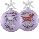 2018 Breyer Artist Signature Glass Ornament