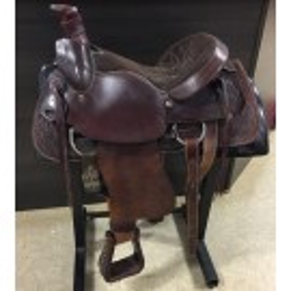 """Used 16"""" American Saddlery Circle A Roper Saddle"""