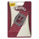 Weaver Antique Nickel Scalloped Berry Buckle 3/4""