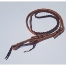 Hand Braided Roping Reins by Alamo Saddlery 5 Plait