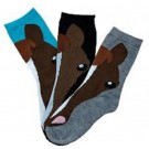 AWST Horse Face Socks