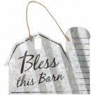 "Bless This Barn - 5"" Sign"