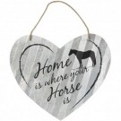 Home is Horse Heart Sign- 20""