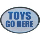 HITCH COVER -TOYS GO HERE